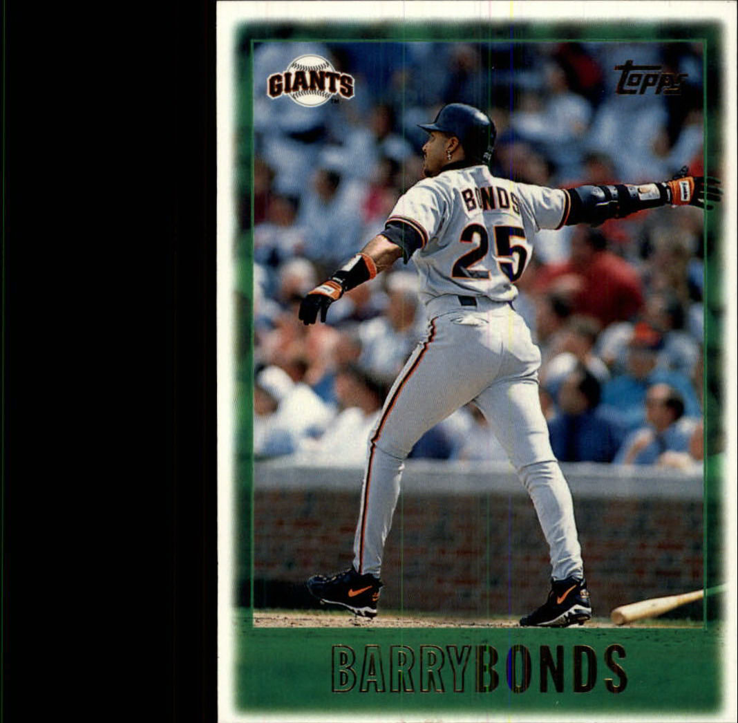 1997 Topps #1 Barry Bonds