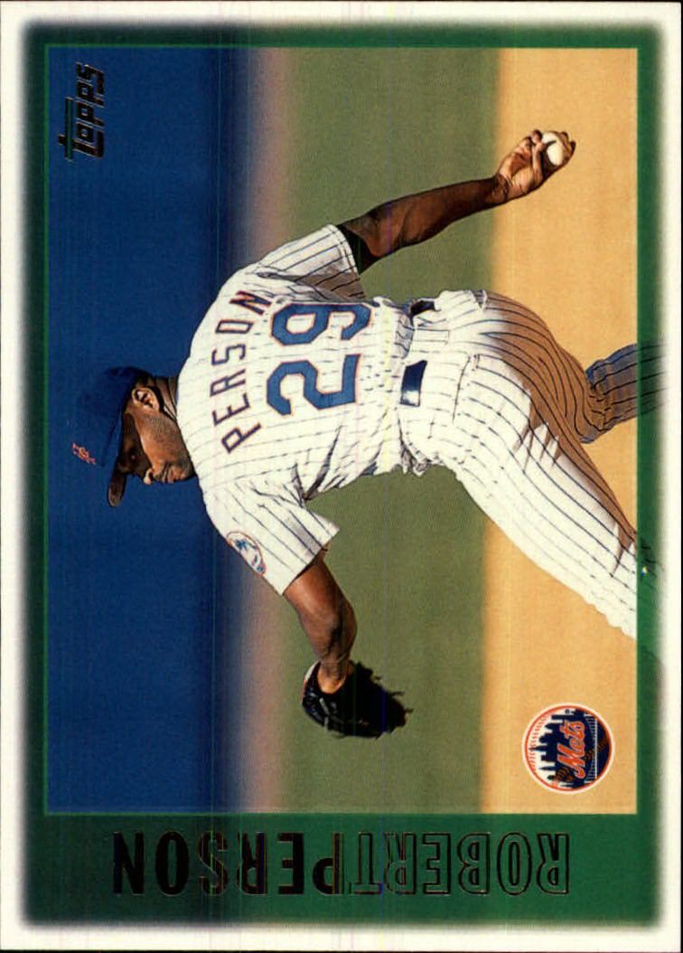 1997 Topps #116 Robert Person