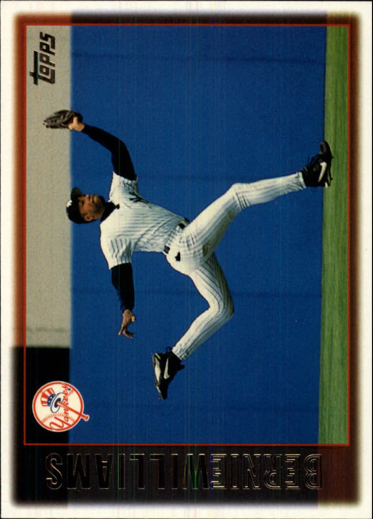 1997 Topps #150 Bernie Williams