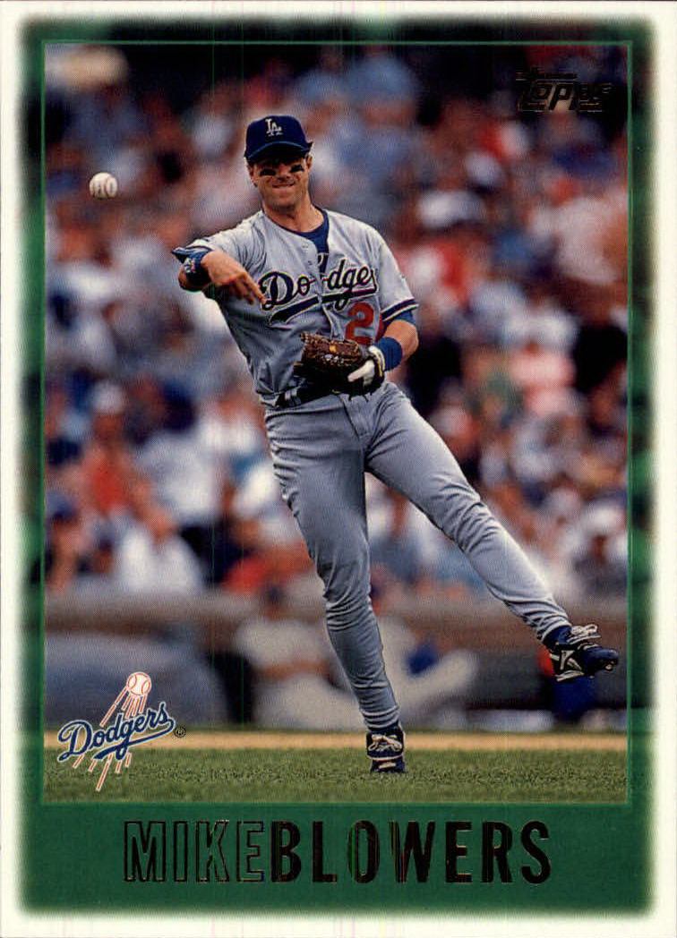 1997 Topps #192 Mike Blowers