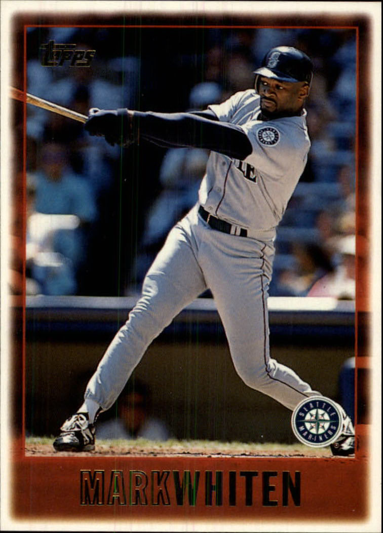 1997 Topps #322 Mark Whiten