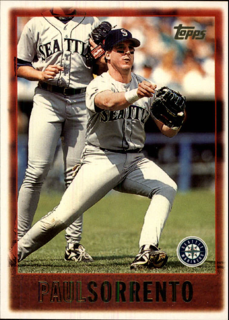 1997 Topps #423 Paul Sorrento