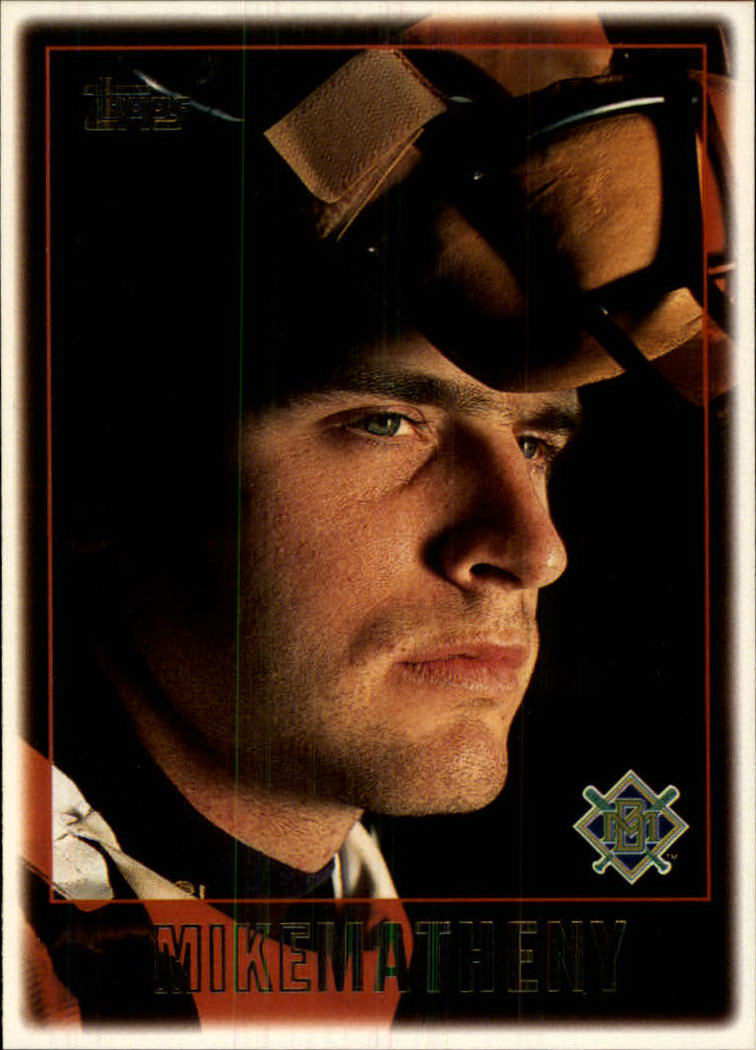1997 Topps #485 Mike Matheny