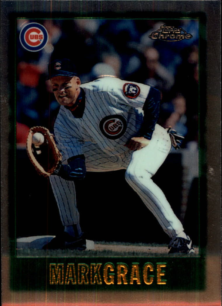 1997 Topps Chrome #13 Mark Grace