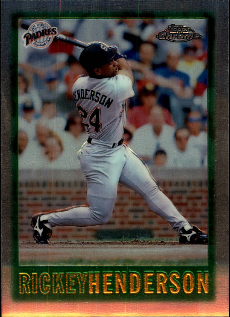 1997 Topps Chrome #39 Rickey Henderson