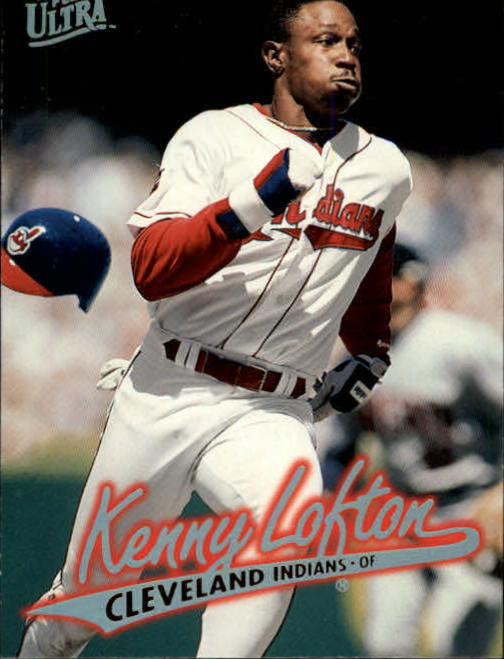 1997 Ultra #50 Kenny Lofton