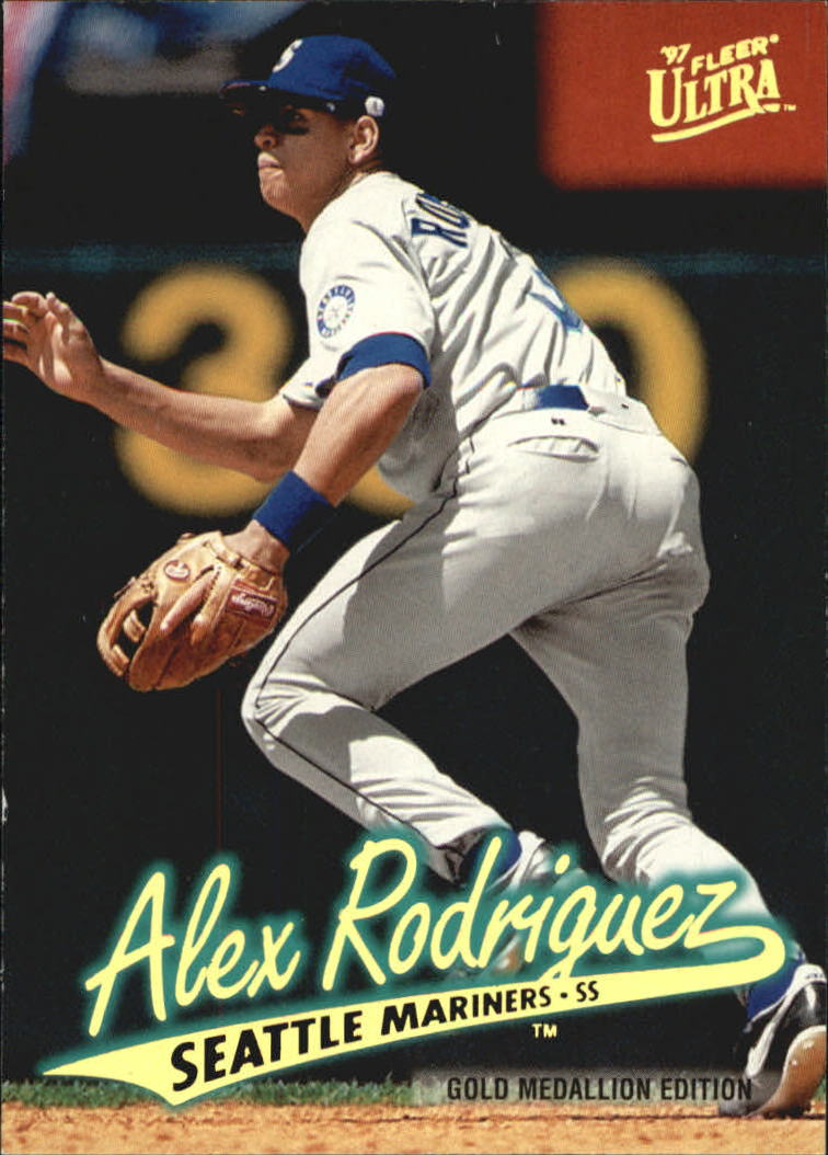 1997 Ultra Gold Medallion #126 Alex Rodriguez front image