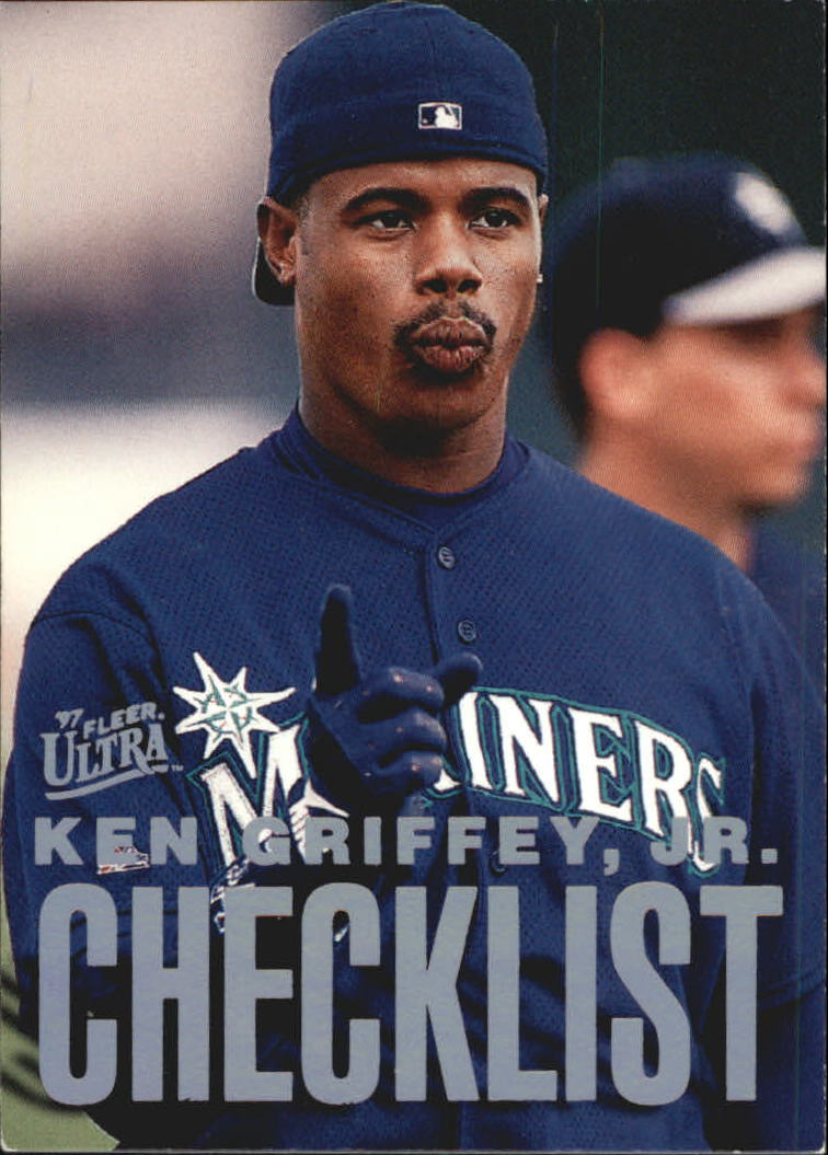 1997 Ultra Checklists #B2 Ken Griffey Jr.