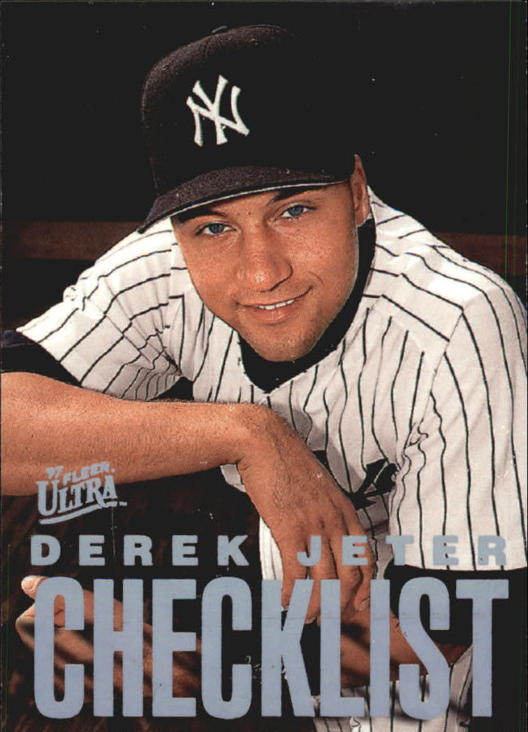1997 Ultra Checklists #B9 Derek Jeter