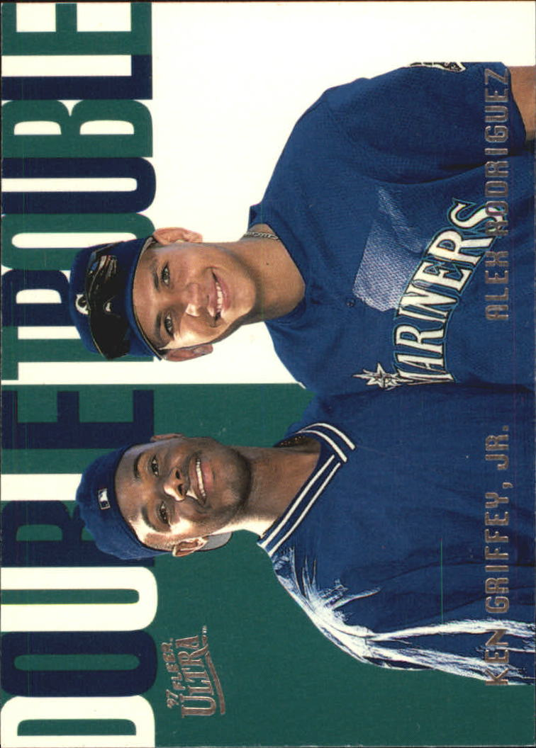 1997 Ultra Double Trouble #9 K.Griffey Jr./A.Rodriguez
