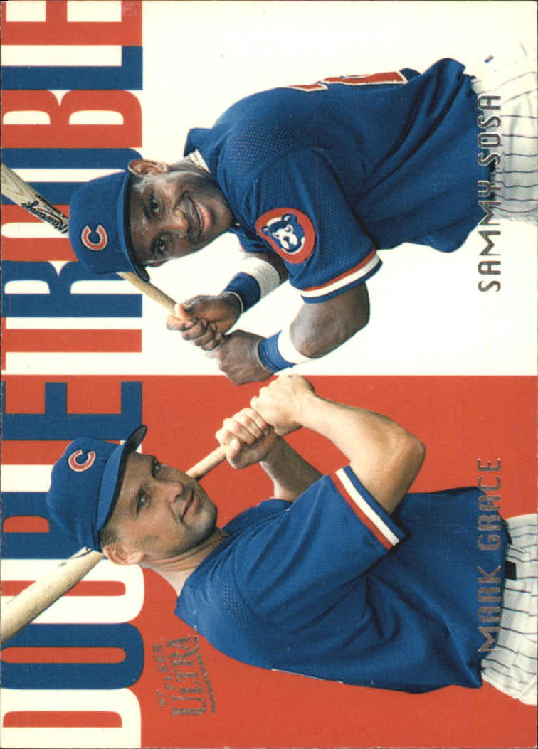 1997 Ultra Double Trouble #12 S.Sosa/M.Grace