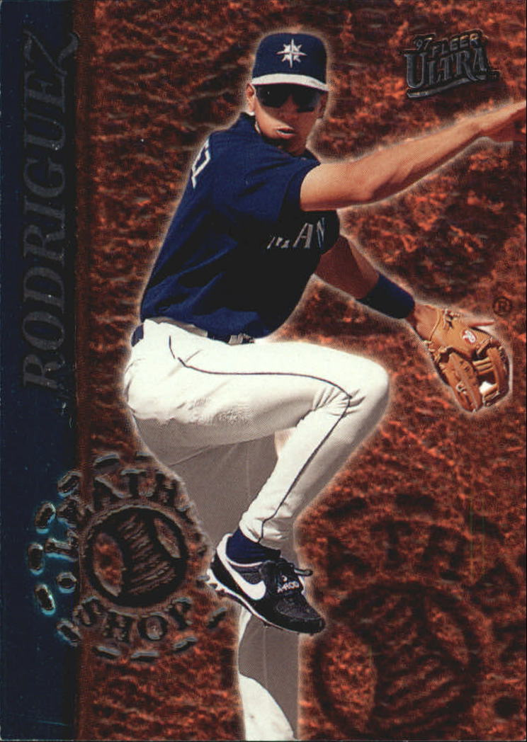 1997 Ultra Leather Shop #2 Alex Rodriguez