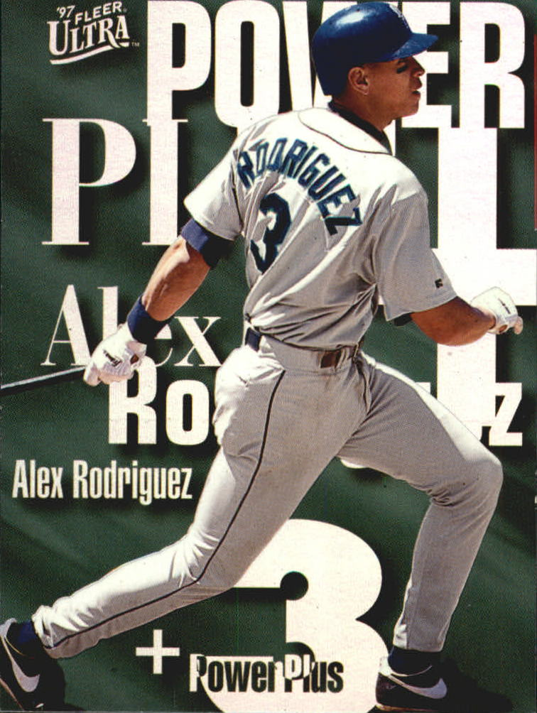 1997 Ultra Power Plus #A9 Alex Rodriguez