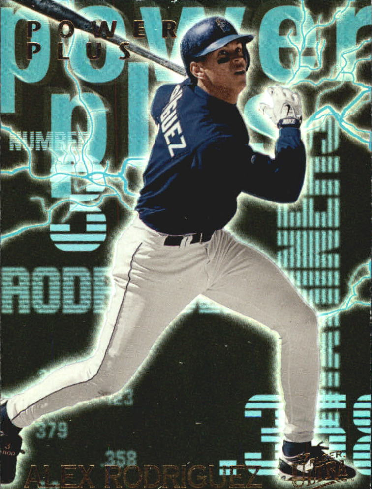 1997 Ultra Power Plus #B3 Alex Rodriguez