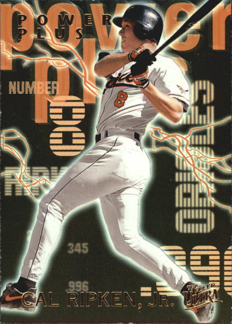 1997 Ultra Power Plus #B4 Cal Ripken
