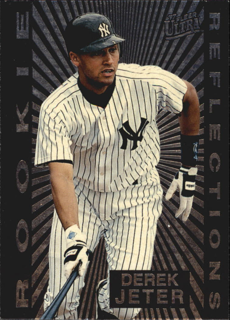 1997 Ultra Rookie Reflections #5 Derek Jeter