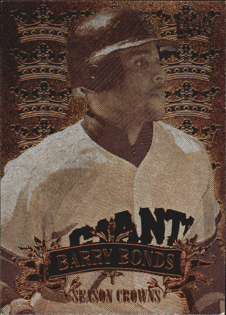 1997 Ultra Season Crowns #3 Barry Bonds