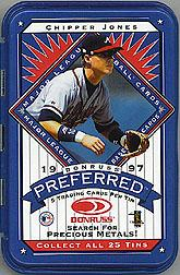 1997 Donruss Preferred Tin Packs #10 Chipper Jones