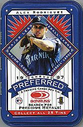 1997 Donruss Preferred Tin Packs #18 Alex Rodriguez