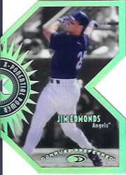 1997 Donruss Preferred X-Ponential Power #6B Jim Edmonds