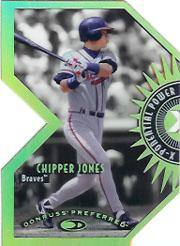 1997 Donruss Preferred X-Ponential Power #8A Chipper Jones