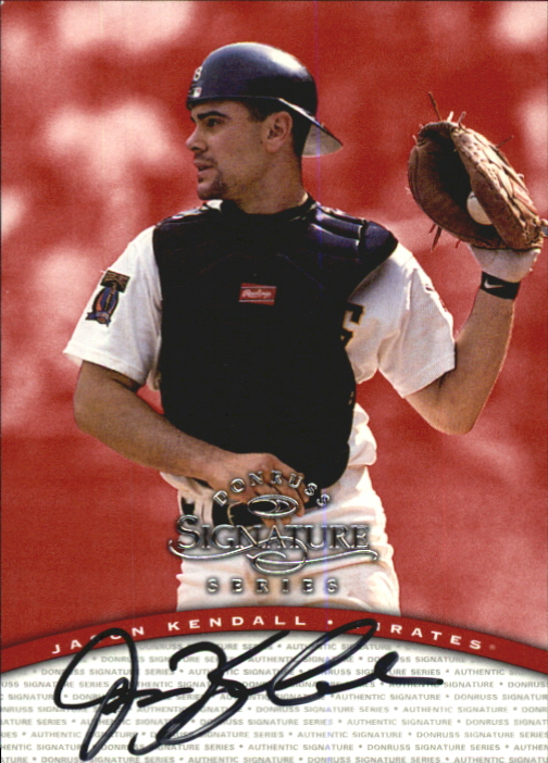 1997 Donruss Signature Autographs #58 Jason Kendall/3900