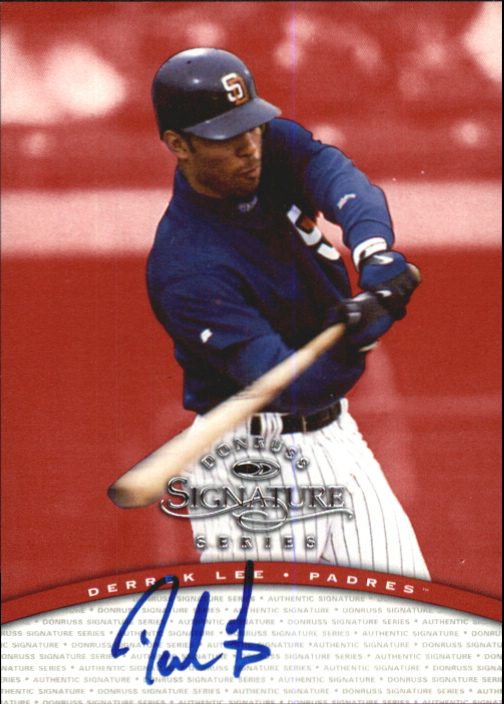 1997 Donruss Signature Autographs #66 Derrek Lee/3900