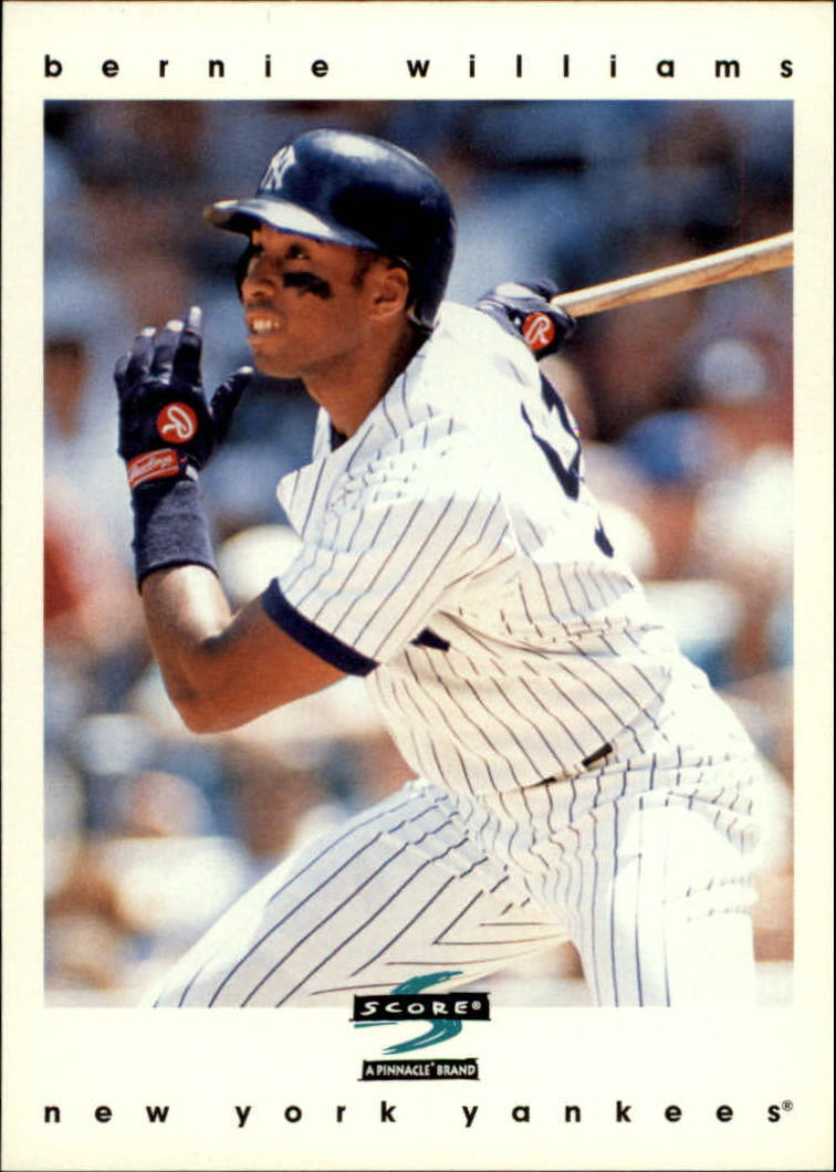 1997 Score #5 Bernie Williams