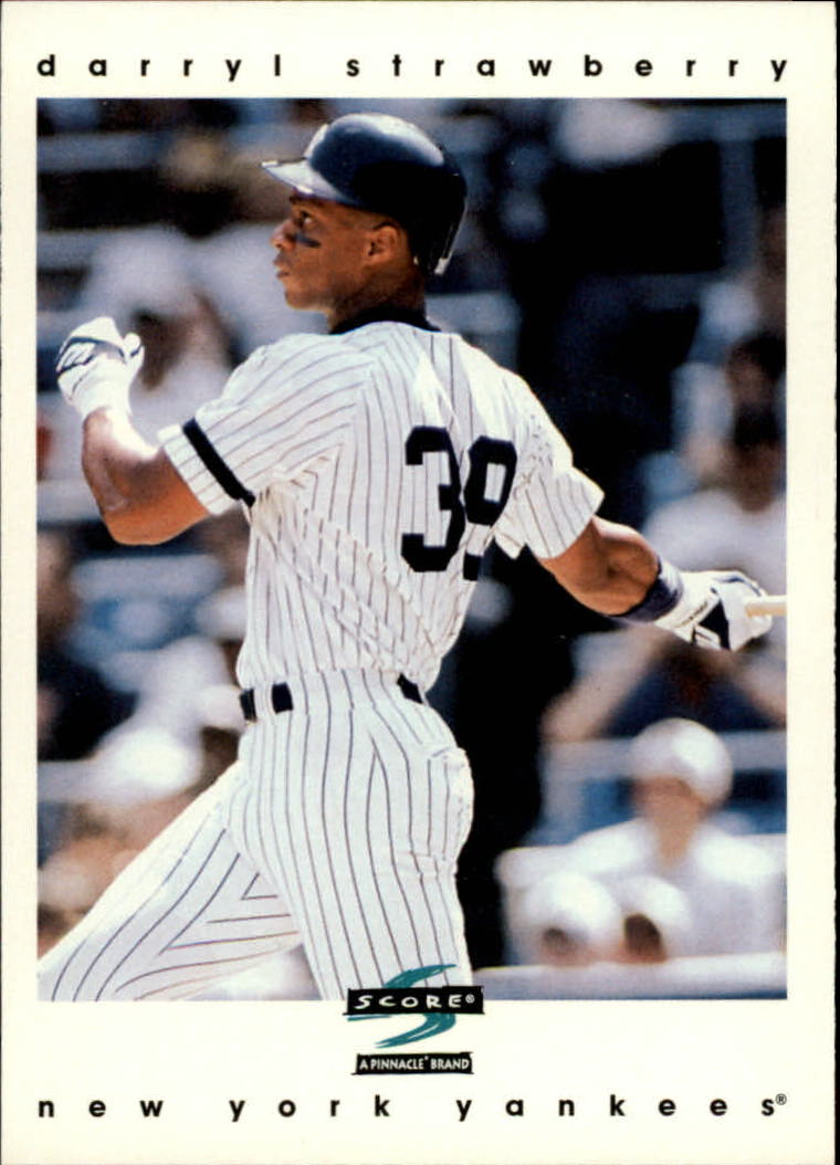 1997 Score #79 Darryl Strawberry