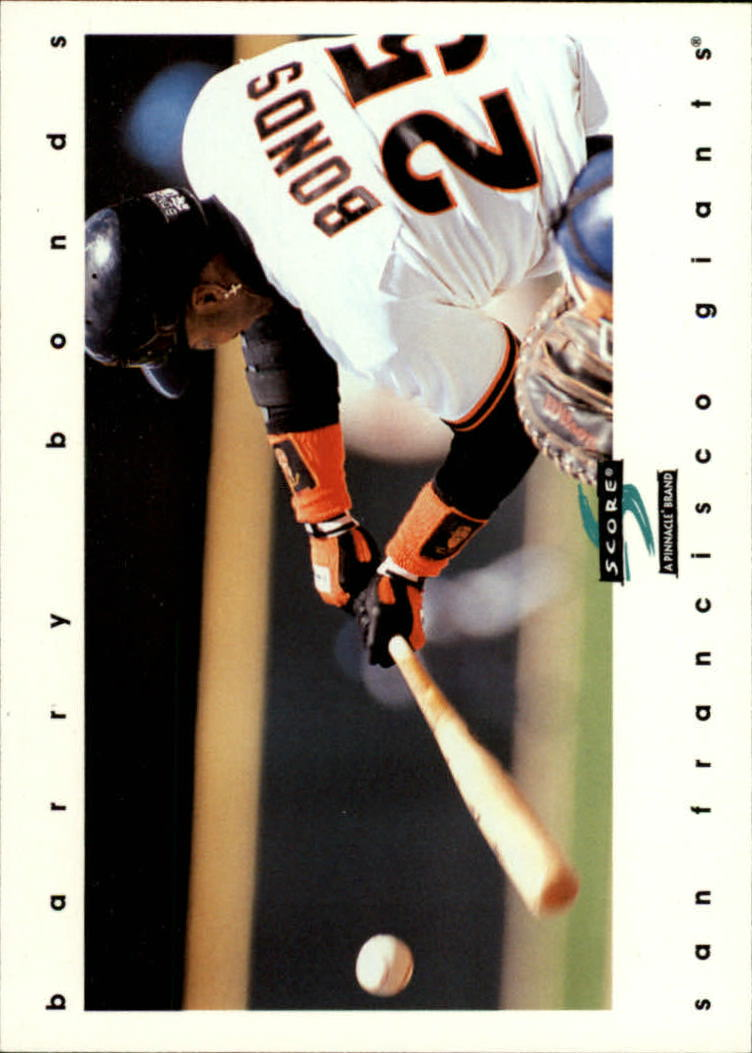 1997 Score #91 Barry Bonds
