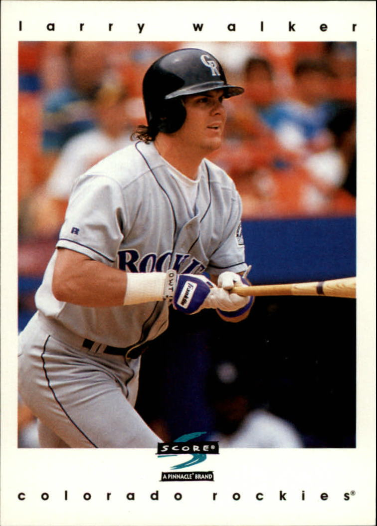 1997 Score #176 Larry Walker