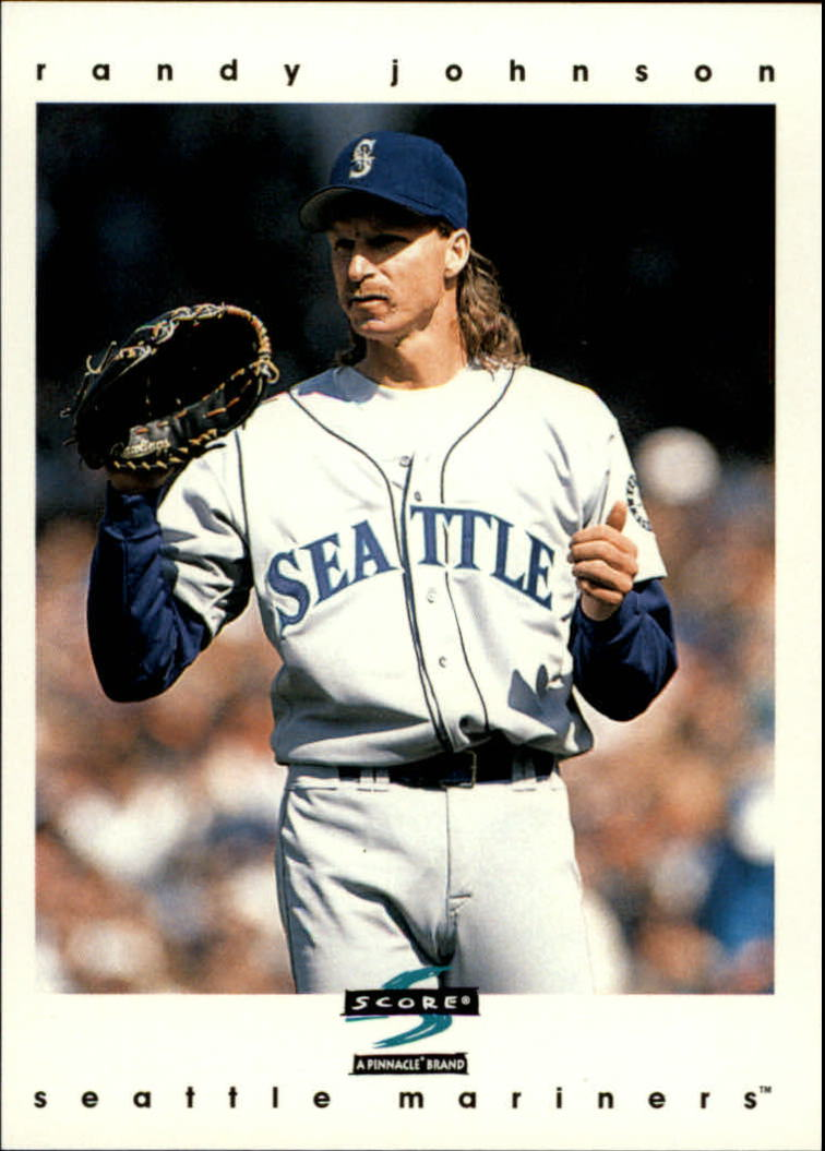 1997 Score #192 Randy Johnson