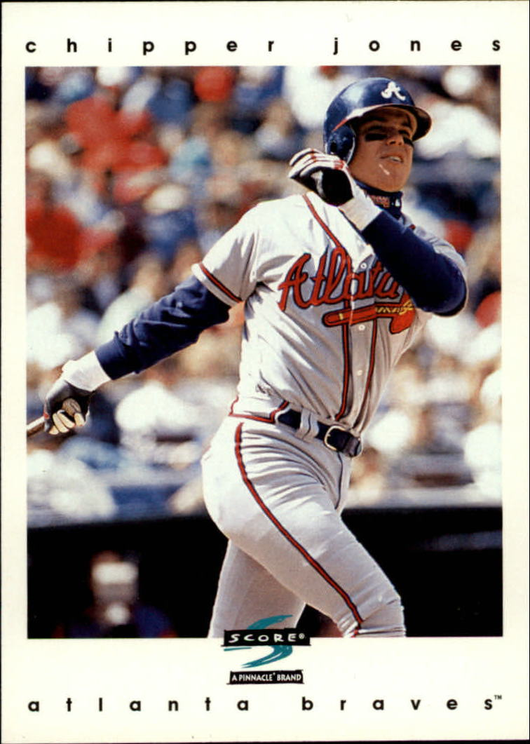 1997 Score #193 Chipper Jones