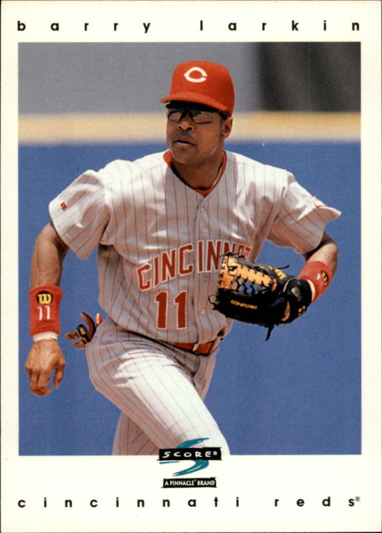 1997 Score #242 Barry Larkin