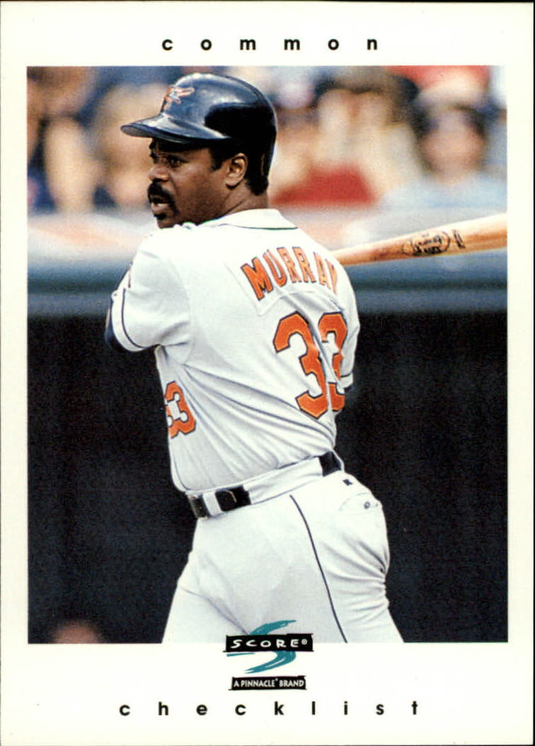 1997 Score #328 Eddie Murray CL