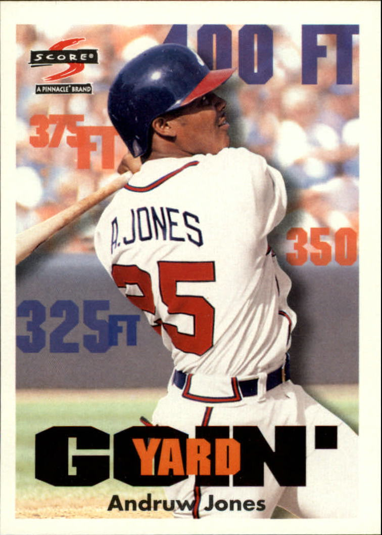 1997 Score #500 Andruw Jones GY