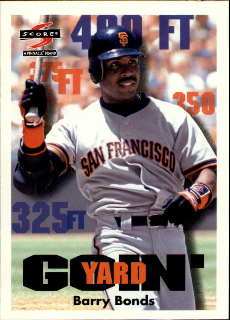 1997 Score #504 Barry Bonds GY