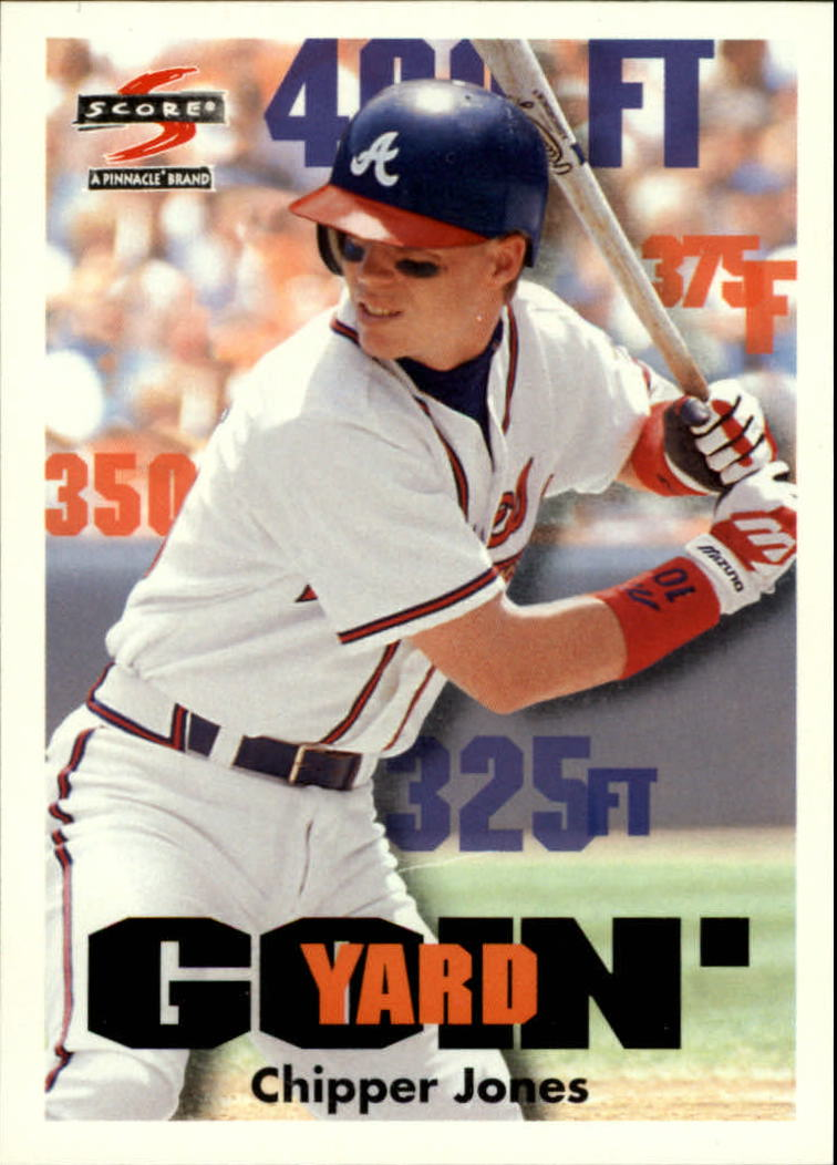1997 Score #509 Chipper Jones GY
