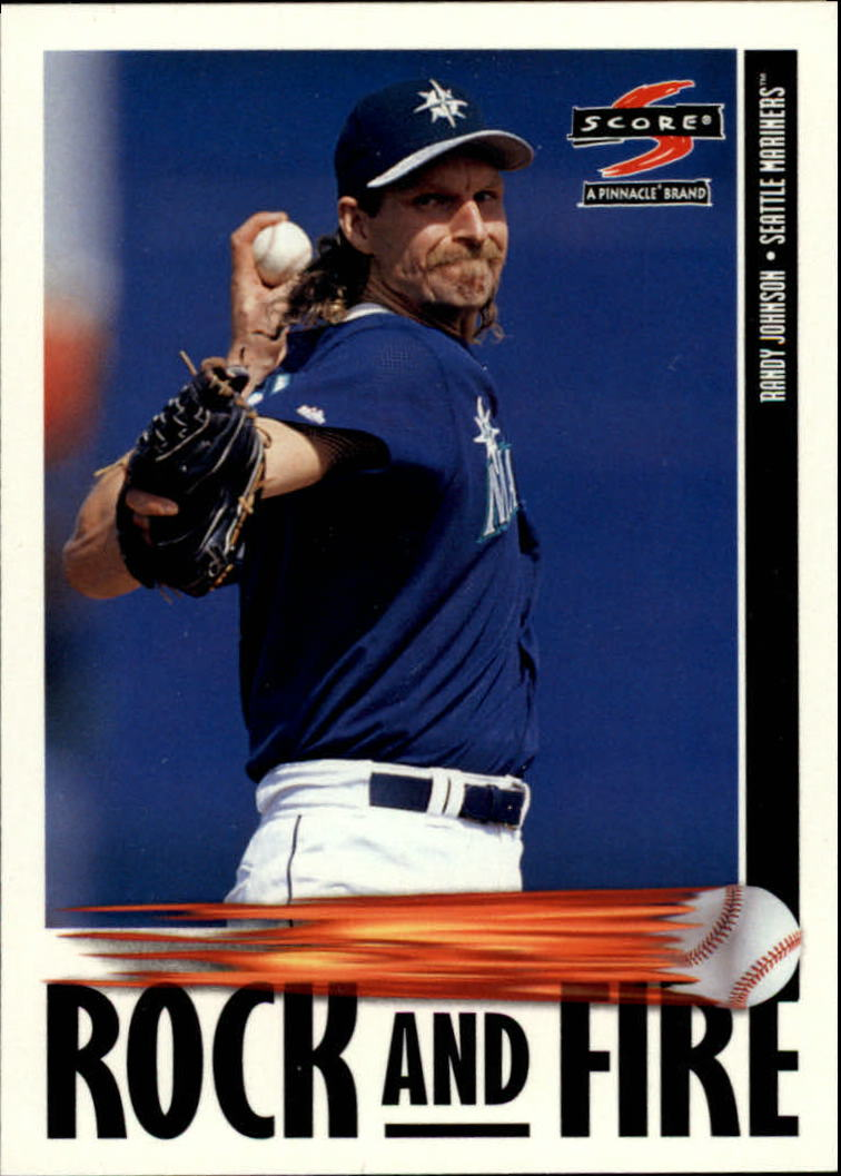 1997 Score #529 Randy Johnson RF