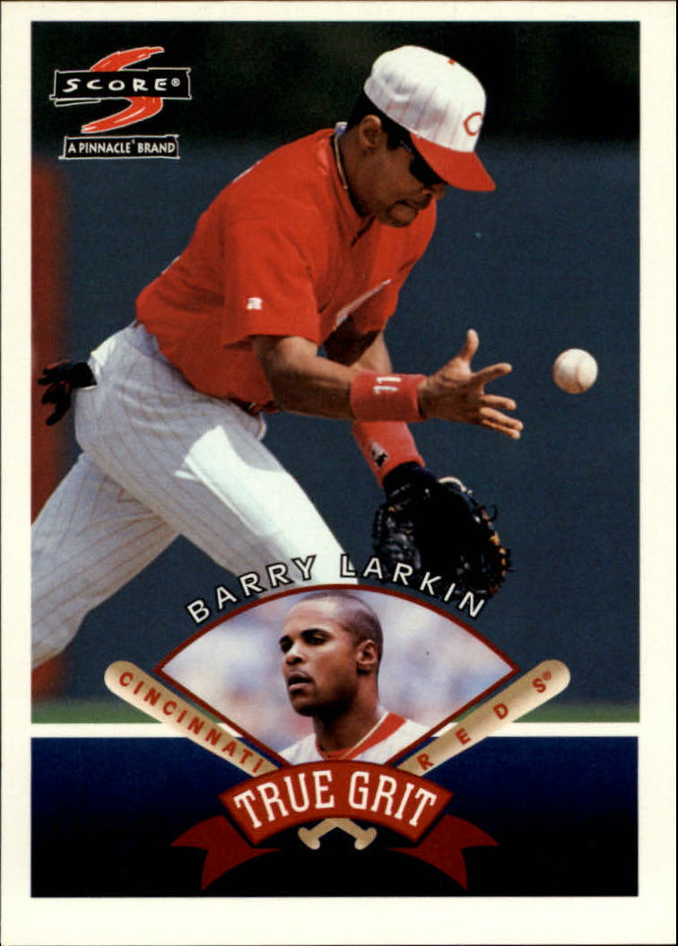 1997 Score #538 Barry Larkin TG