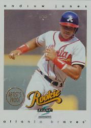 1997 Score Artist's Proofs White Border #310 Andruw Jones