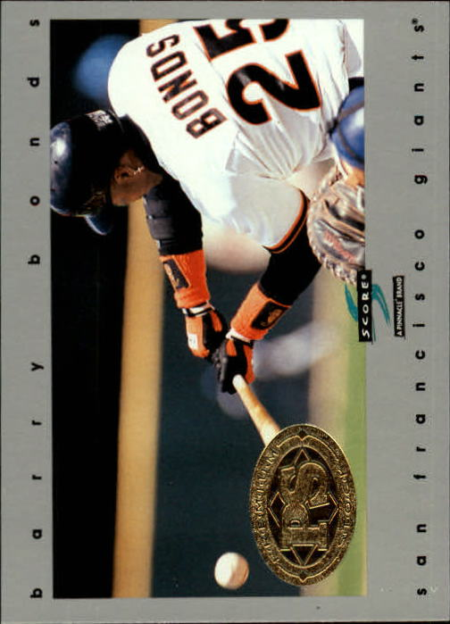 1997 Score Premium Stock #91 Barry Bonds
