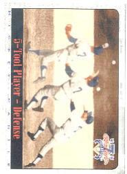 1997 Scoreboard Mantle #35 Mickey Mantle/5-Tool Player-Defense