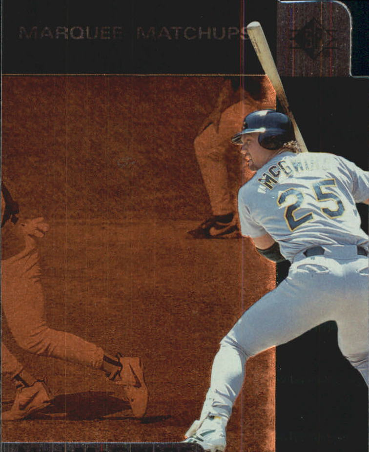 1997 SP Marquee Matchups #MM4 Mark McGwire