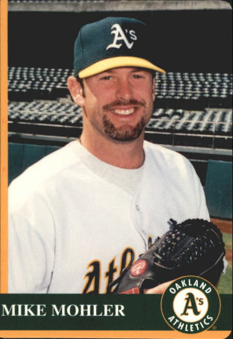 1997 A's Mother's #9 Mike Mohler