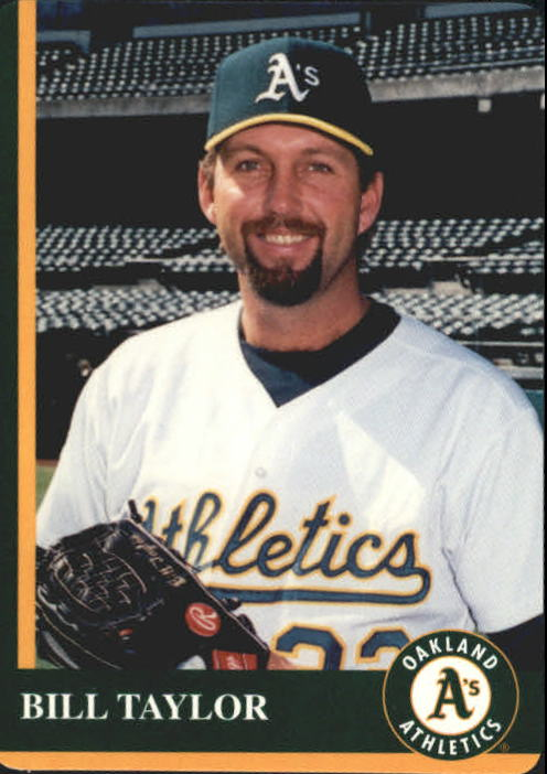 1997 A's Mother's #18 Bill Taylor