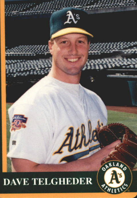 1997 A's Mother's #22 Dave Telgheder