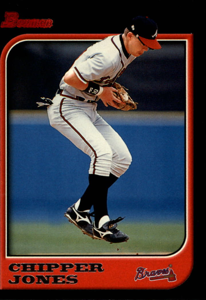 1997 Bowman #3 Chipper Jones