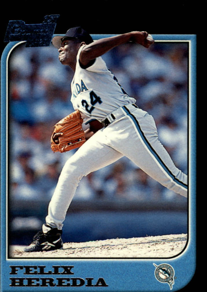 1997 Bowman #72 Felix Heredia RC