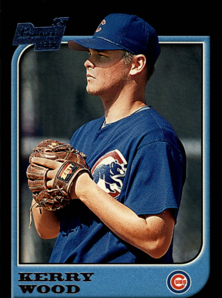 1997 Bowman #196 Kerry Wood RC